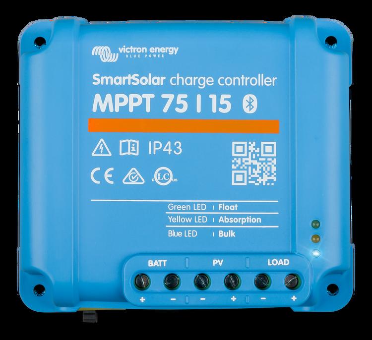 Victron Energy - SmartSolar MPPT 75/15 Solcellsregulator