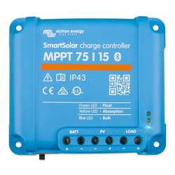Victron Energy SCC075015060R - SmartSolar MPPT 75/15, solcellsregulator