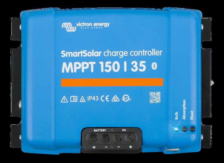 Victron Energy SCC115035210 - SmartSolar MPPT 150/35, solcellsregulator, 12/24/48V