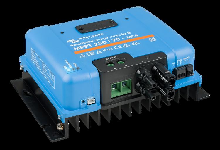 Victron Energy SCC125085310 - SmartSolar MPPT 250/85-MC4, Solcellregulator