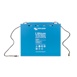 Victron Energy BAT512060410 - Lithium-batteri 12,8V/60Ah, Smart Bluetooth. LxBxH: 285x132x24