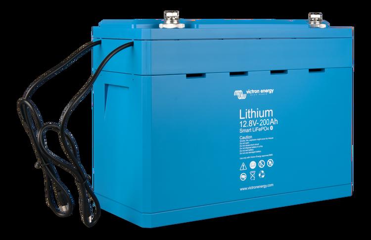 Victron Energy BAT512120610 - Lithium-batteri 12,8V/200Ah, Smart