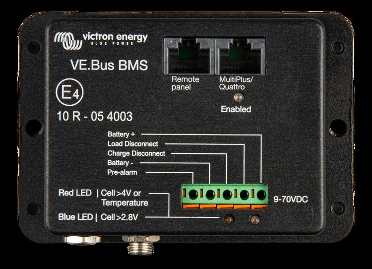 Victron Energy BMS300200000 - VE.Bus BMS, för övervakning 12,24 och 48V Lithiumbatterier