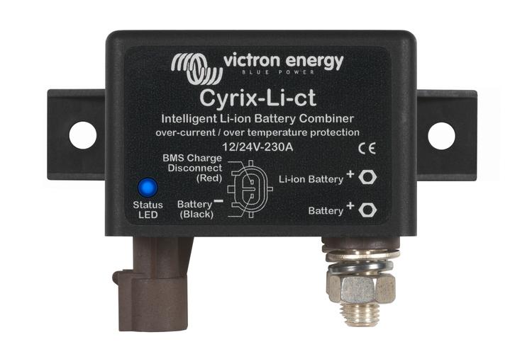 Victron Energy CYR010230412 - Cyrix-Li-ct 12/24V-230A, batterikombinerare för lithium-batterier