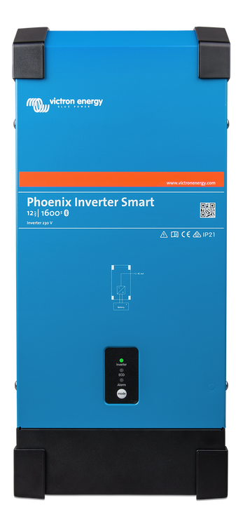 Victron Energy PIN122160000 - Phoenix Inverter 12/1600 230V Smart