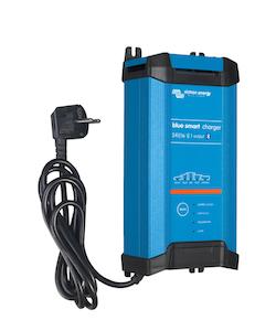 Victron Energy BPC241642002 - Blue Smart IP22 batteriladdare. 24V/16A, 1 utgång. Bluetooth. 7-stegs laddning. För Lithium och blybatterier