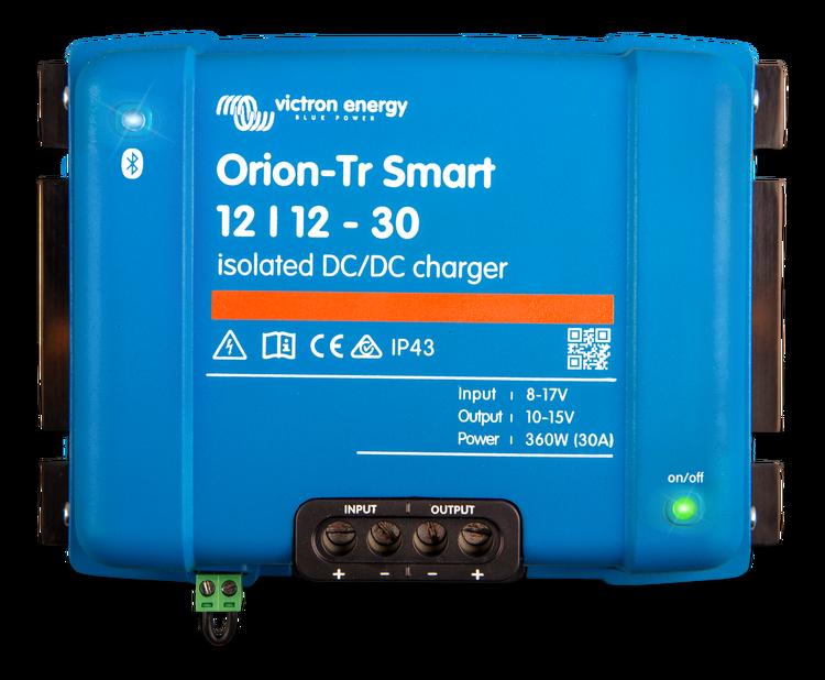 Victron Energy ORI121236120 - Orion-Tr Smart 12/12-30A (360W), isolerad DC-DC-laddare