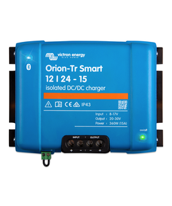 Victron Energy ORI122436120 - Orion-Tr Smart 12/24-15A (360W), isolerad DC-DC-laddare