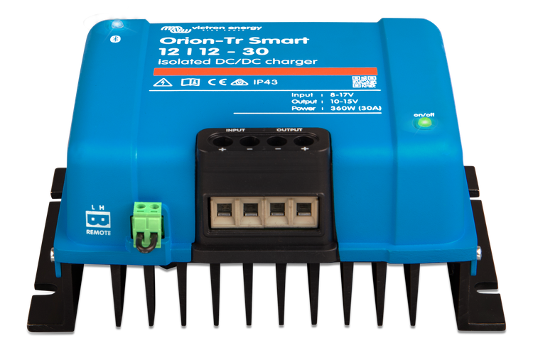 Victron Energy ORI241236120 - Orion-Tr Smart 24/12-30A (360W), Isolated DC-DC-laddare