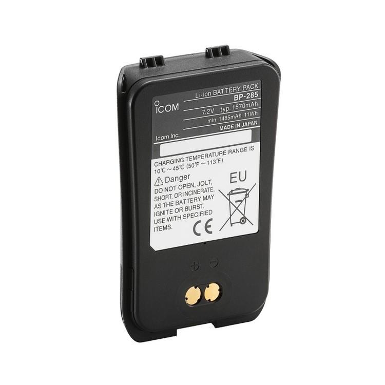Icom 91285 - BP-285 Li-Ion Batteripack 1485mAh för IC-M93D
