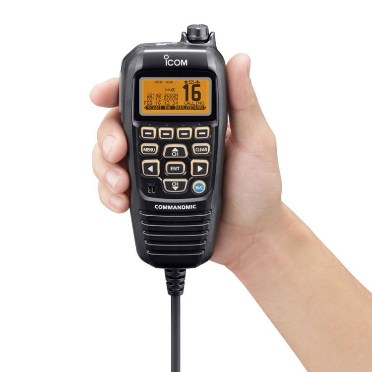 Icom 94195 - HM-195B Commandmic för M423/M506/M400BB