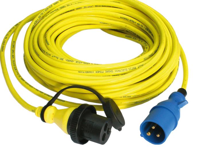 Victron Energy SHP302502500 - Landströmskabel 25 meter, 16A/250V, 3x2,5 mm2