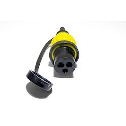 Victron Energy SHP301604000 - Landströmskontakt 16A/230V till rostfritt intag