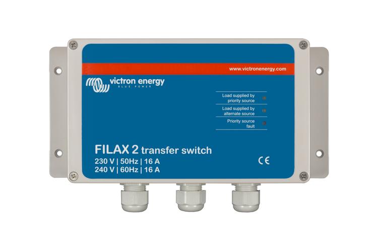 Victron Energy SDFI0000000 - Filax 2, matningsomkopplare, CE 230V/50Hz-240V/60Hz