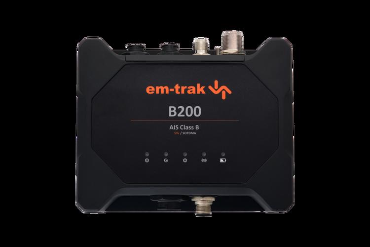 Em-trak B200 - AIS klass B transponder, 5W CSTDMA, batteribackup