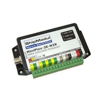 ShipModul 1136 - MiniPlex-3E-N2K, Ethernet & NMEA 2000