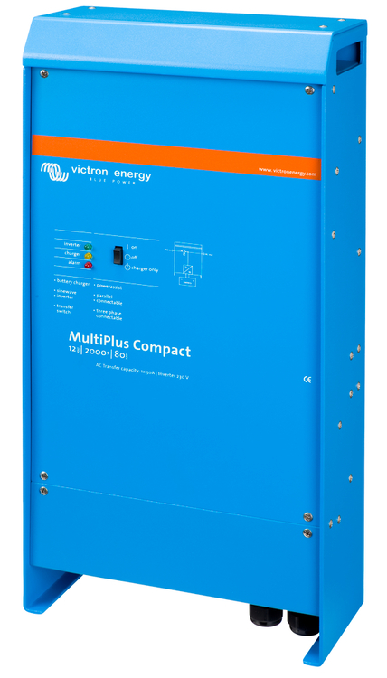 Victron Energy CMP122200000 - MultiPlus Compact 12/2000/80-30, 230V, VE.Bus