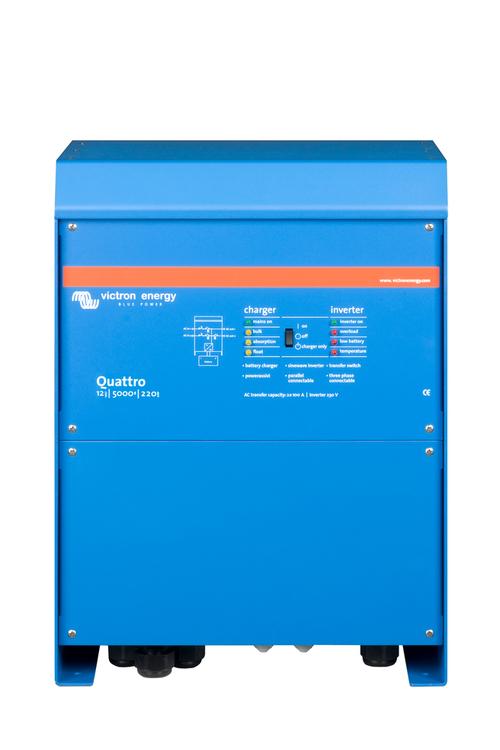 Victron Energy - Quattro 12/5000/220-100/100 230V VE.Bus
