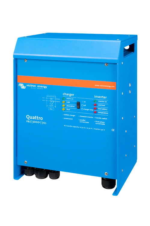 Victron Energy - Quattro 24/3000/70-50/50 230V VE.Bus