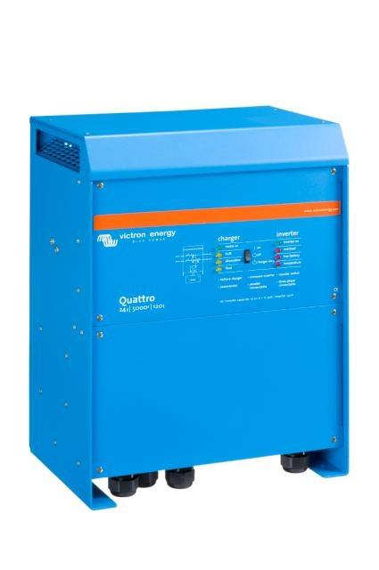 Victron Energy QUA245021010 - Quattro 24/5000/120-100/100, 230V, VE.Bus