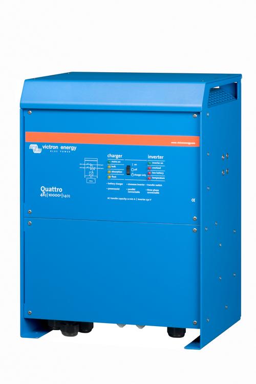 Victron Energy QUA481030010 - Quattro 48/10000/140-100/100, 230V, VE.Bus