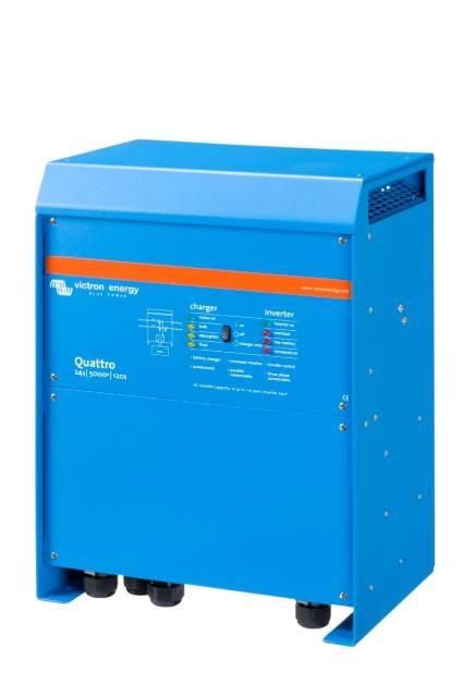 Victron Energy QUA485021010 - Quattro 48/5000/70-100/100, 230V, VE.Bus