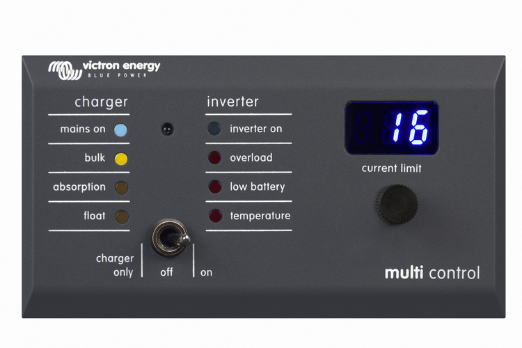Victron Energy - Kontrollpanel Digital Multi Control 200/200A GX RJ45