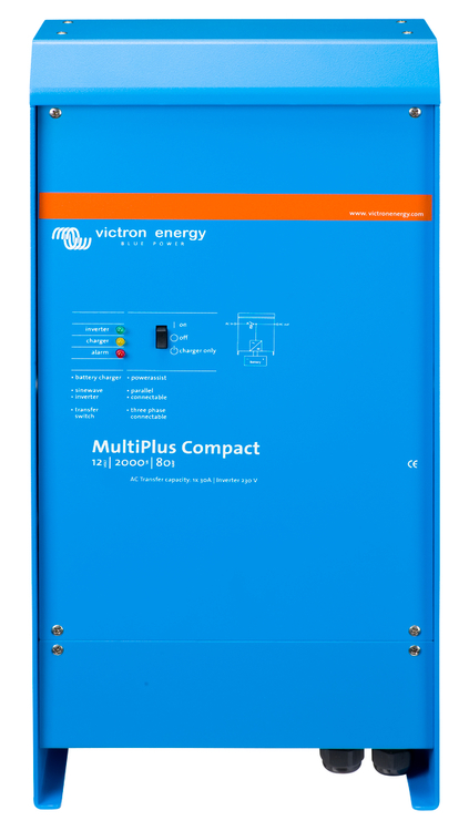 Victron Energy CMP242200000 - MultiPlus Compact 24/2000/50-30, 230V, VE.Bus