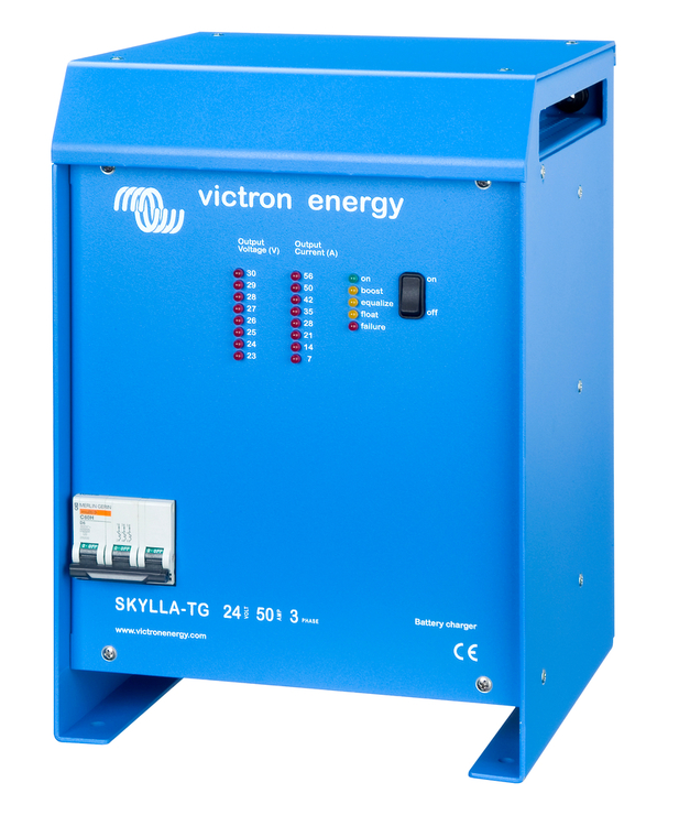 Victron Energy - Skylla-TG 24V/50A 1+1 utgång 3-fas 400V