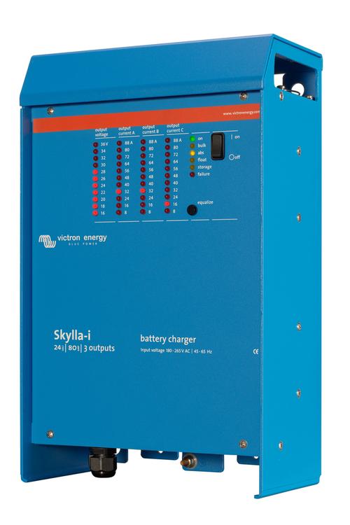Victron Energy SKI024080002 - Skylla-i 24V/80A, 3 utgångar, 230V