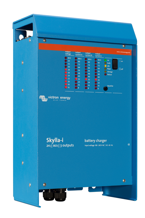 Victron Energy SKI024100002 - Skylla-i 24V/100A, 3 utgångar, 230V