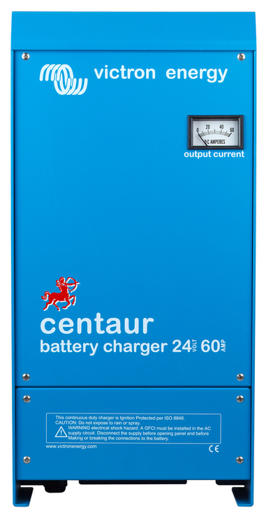 Victron Energy CCH024060000 - Centaur batteriladdare 24V/60A, 3 utgångar