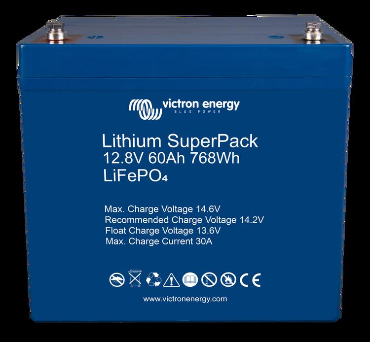 Victron Energy BAT512060705 - Lithium SuperPack 12,8V/60Ah (M6)