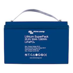 Victron Energy BAT524050705 - Lithium SuperPack 25,6V/50Ah (M8)