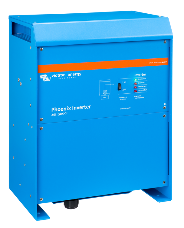 Victron Energy PIN245020000 - Phoenix Inverter 24/5000, 230V, VE.Bus