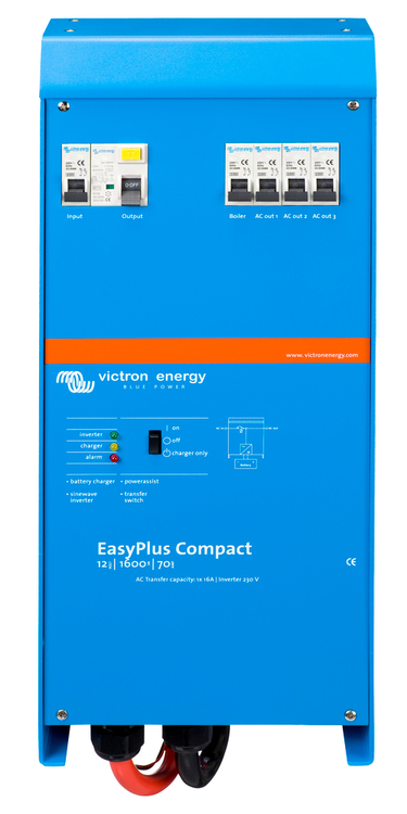 Victron Energy CEP121620000 - EasyPlus Compact 12/1600/70-16, 230V, VE.Bus