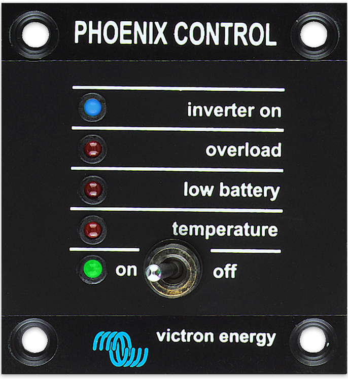 Victron Energy REC030001210 - Phoenix Inverter Control, kontrollpanel. OBS. Passar till äldre modeller