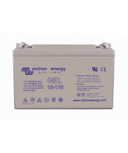 Victron Energy BAT412101104 - GEL-batteri 12V/110 Ah CCA (SAE) 550A