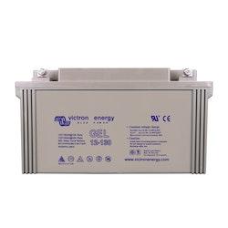 Victron Energy BAT412121104 - GEL-batteri 12V/130 Ah, CCA (SAE) 500