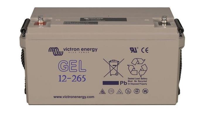 Victron Energy - GEL Batteri 12V/265 Ah CCA (SAE) 650A