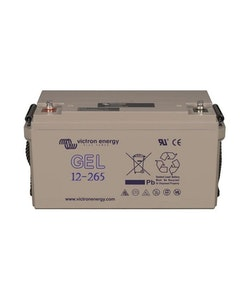 Victron Energy BAT412126101 - GEL-batteri 12V/265 Ah CCA (SAE) 650A