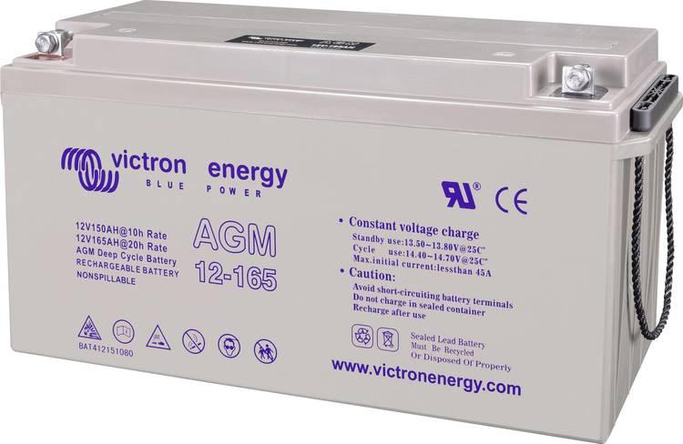 Victron Energy BAT412151104 - GEL-batteri 12V/165 Ah CCA (SAE) 850A