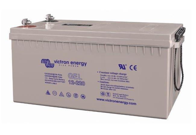 Victron Energy BAT412201104 - GEL-batteri 12V/220 Ah CCA (SAE) 1100A