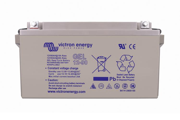Victron Energy - GEL Batteri 12V/90Ah CCA (SAE) 360A