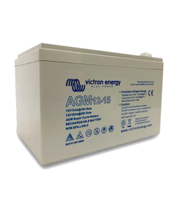 Victron Energy BAT412015080 - AGM Super Cycle-batteri 12V/15Ah, (Faston-tab 6.3x0.8mm)