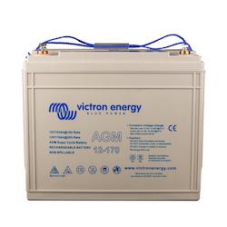 Victron Energy - AGM Super Cycle Batteri 12V/170Ah CCA (SAE) 600, M8-gänga