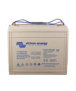 Victron Energy BAT412117081 - AGM Super Cycle-batteri 12V/170Ah  CCA (SAE) 600, M8-gänga