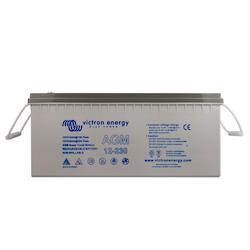 Victron Energy BAT412123081 - AGM Super Cycle-batteri 12V/230Ah CCA (SAE) 700, M8-gänga