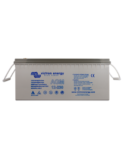 Victron Energy BAT412123081 - AGM Super Cycle-batteri 12V/230Ah CCA (SAE) 700, M8-gänga