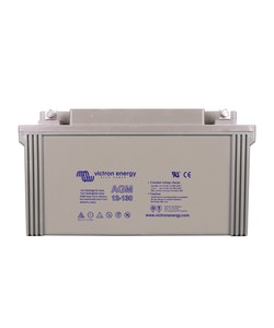 Victron Energy BAT412121084 - AGM-batteri 12V/130 Ah CCA (SAE) 55